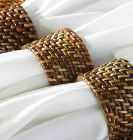Calaisio Woven Reed Round Napkin Ring