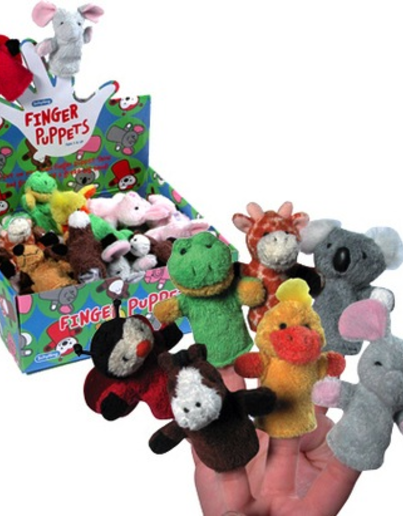 Animal Finger Puppets - Assorted