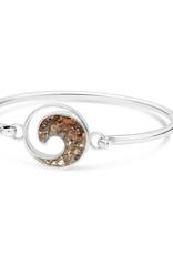 Dune Jewelry Sterling Wave Bracelet - Flagler Beach Florida