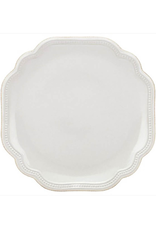 """Lenox French Perle Bead White Accent Plate - 9"""""""
