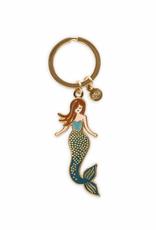 Rifle Paper Mermaid Enamel Keychain