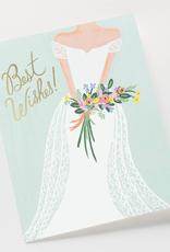 Rifle Paper Beautiful Bride Card