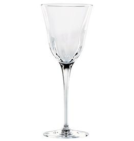 Vietri Optical Water Stem Glass - Clear