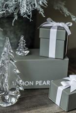 Simon Pearce Vermont Evergreen in Gift Box - 10 Inch