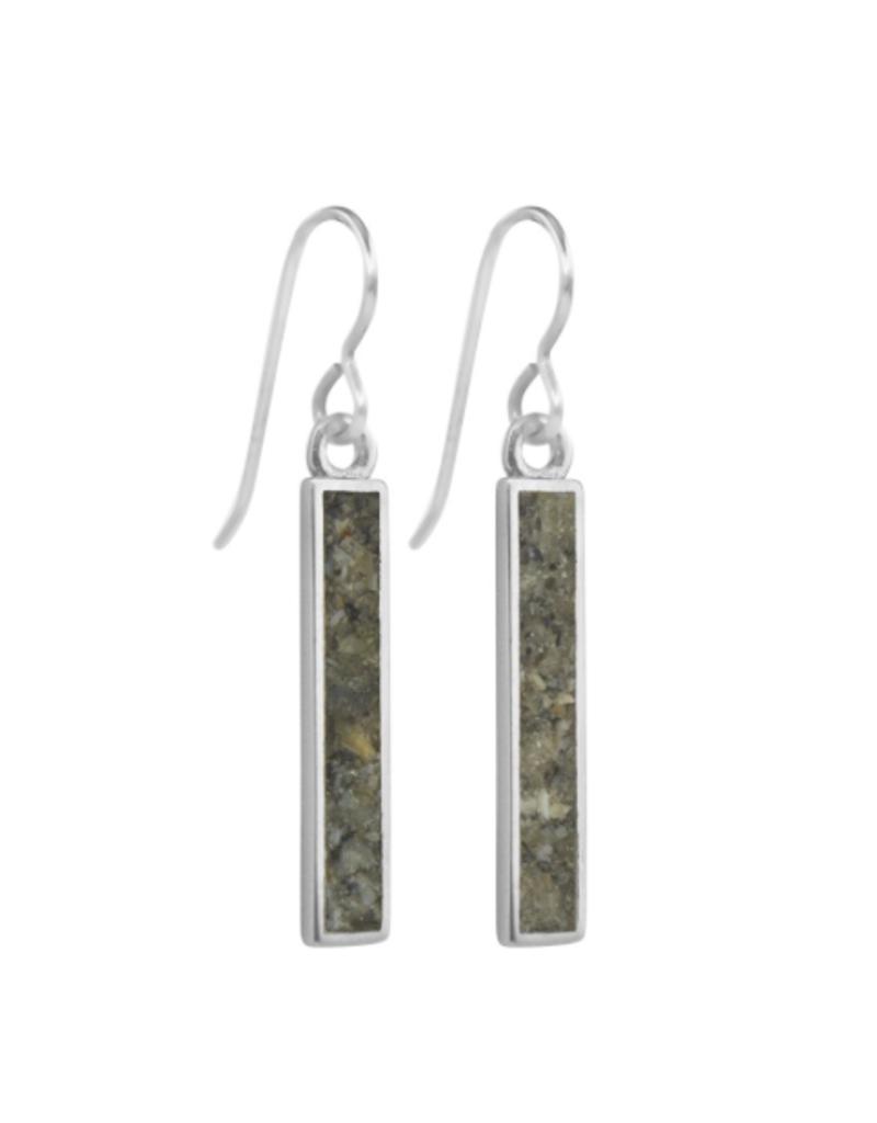 Dune Jewelry Petite Sandbar Sterling Earrings - Anna Marie Island Florida