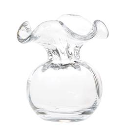 Vietri Clear Hibiscus Glass Bud Vase