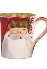 Vietri Old St. Nick Mug - Striped Hat