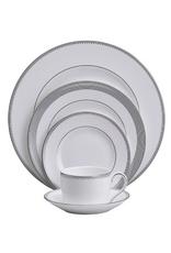 Vera Wang for Wedgwood Vera Wang Grosgrain Dinner 5 pc placesetting - Platinum