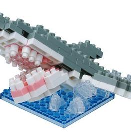 Nanoblock Great White Shark Splash