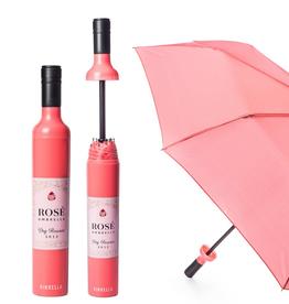Vinrella Rose Labeled Bottle Umbrella