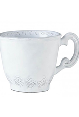 Vietri Incanto Lace Mug