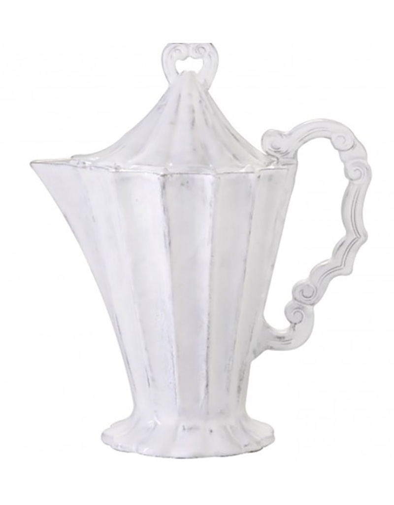 Vietri Incanto Footed Pitcher w/Lid - Discontinued