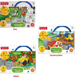Little People Surprise Sound Wooden Puzzle - Assorted