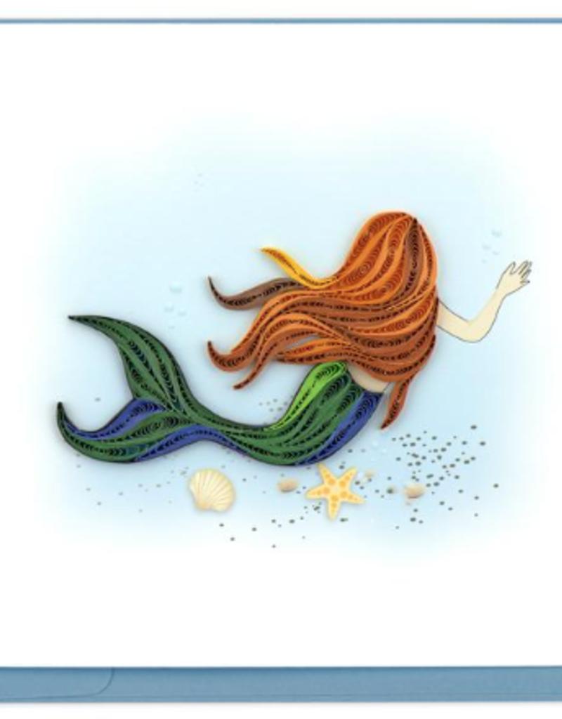 Mermaid Quilling Card