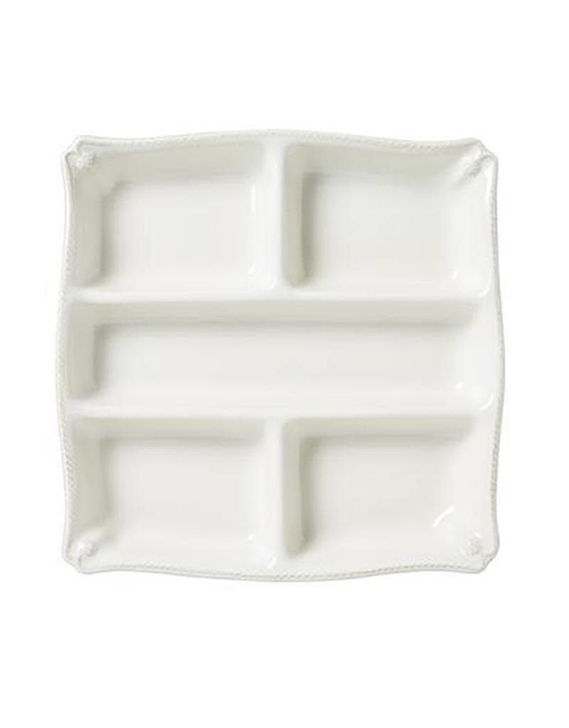 Juliska Berry and Thread Appetizer Platter - Whitewash
