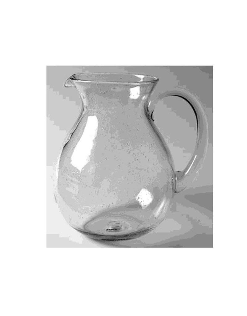 Bubble Glass Pitcher - Clear