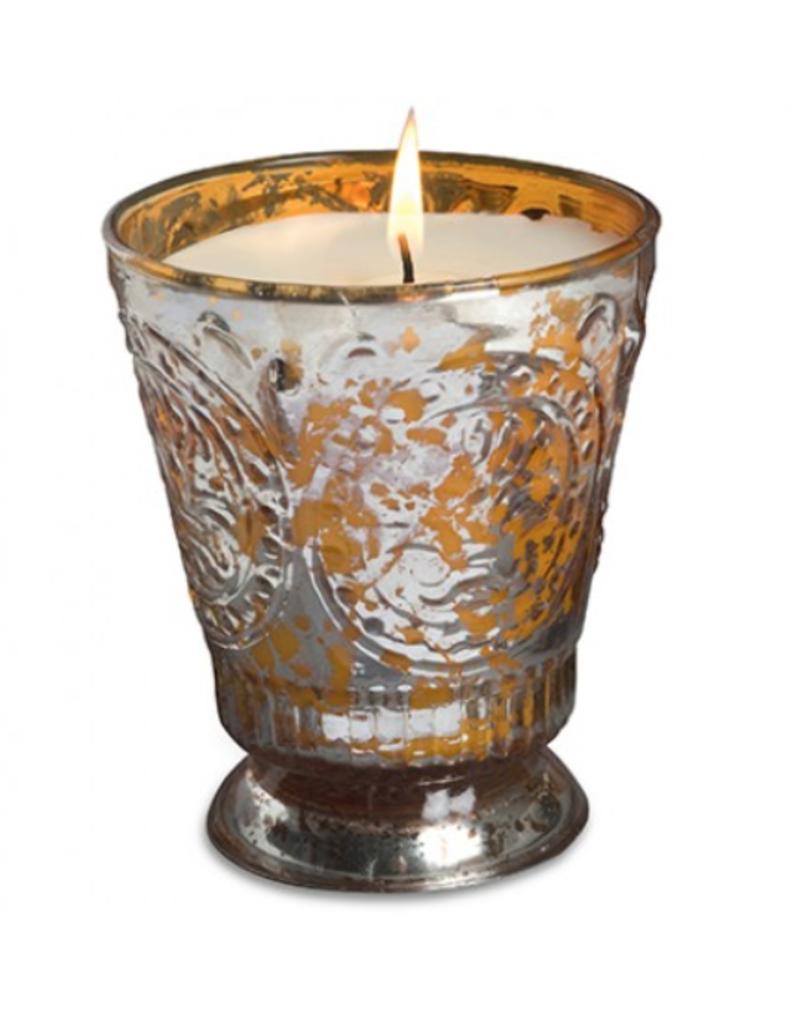 Himalayan Trading Post Fleur de Lys Candle - Orange Grove