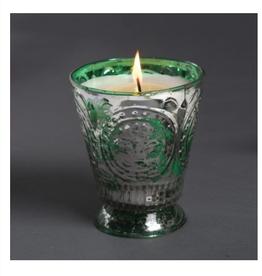 Himalayan Trading Post Fleur de Lys Candle - Prairie Grasslands