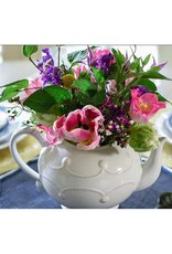 Juliska Berry and Thread Teapot -  Whitewash