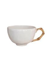 Juliska Classic Bamboo Natural Tea/Coffee Cup