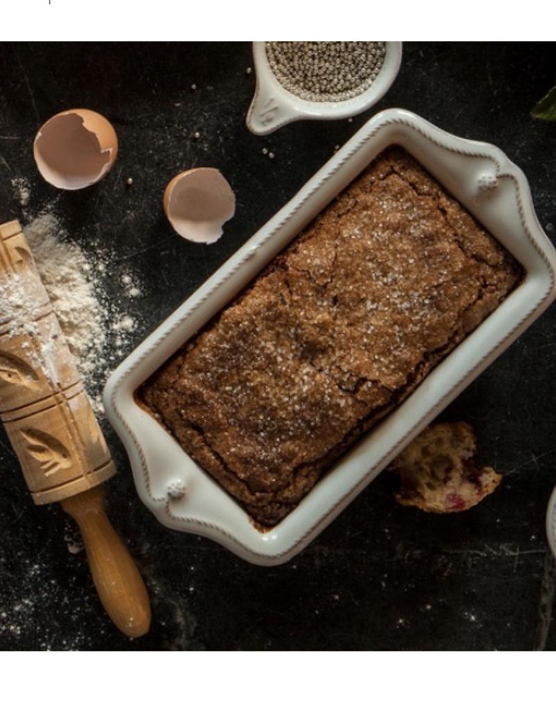 Juliska Berry and Thread Loaf Pan - Whitewash