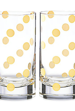 kate spade for Lenox kate spade Pearl Place 2-piece Highball Glass Set - Discontinued
