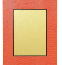 """Caspari Orange Picture Frame - 5""""x7"""""""