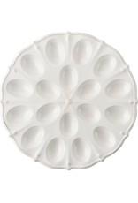Juliska Berry and Thread Deviled Egg Platter - Whitewash
