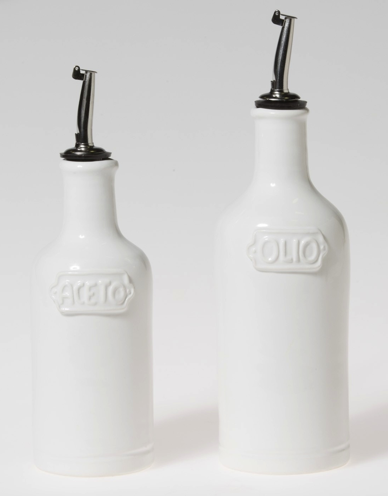 Vietri Oil & Vinegar Set - Fresh White