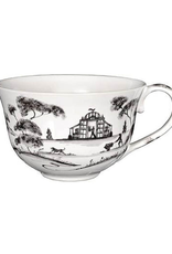 Juliska Country Estate Tea/Coffee Cup Garden Follies Flint