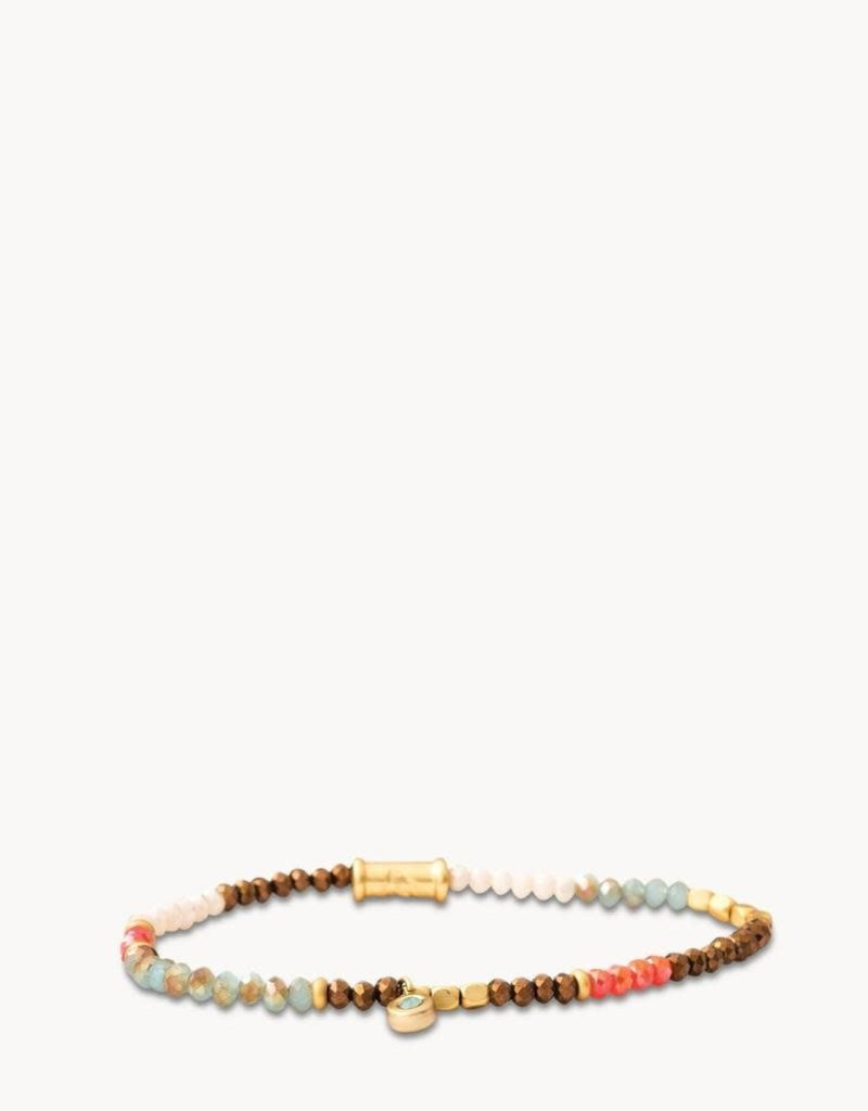 Spartina 449, LLC Stretch Bracelet 3mm - Summer Multi