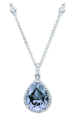 Crislu Rhapsody Necklace - Blue Quartz