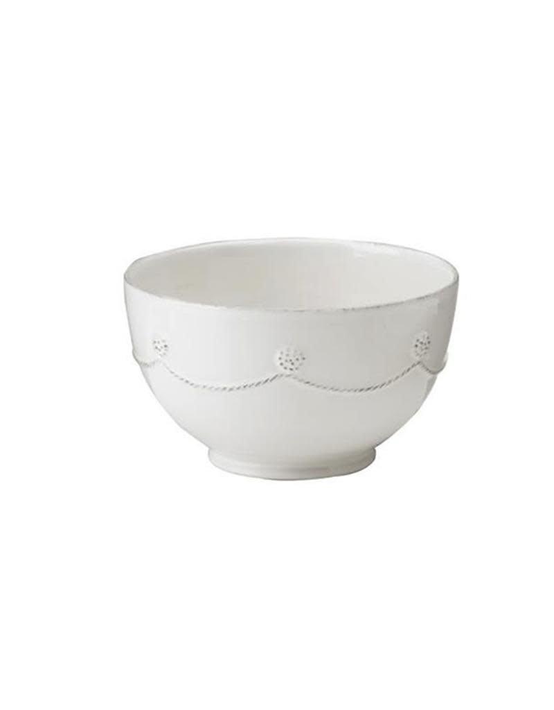 Juliska Berry and Thread Cereal/Ice Cream Bowl - Whitewash