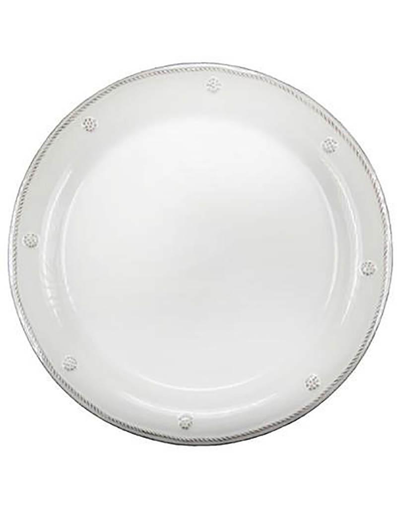 Juliska Berry and Thread Round Dessert/Salad Plate - Whitewash - 9''W