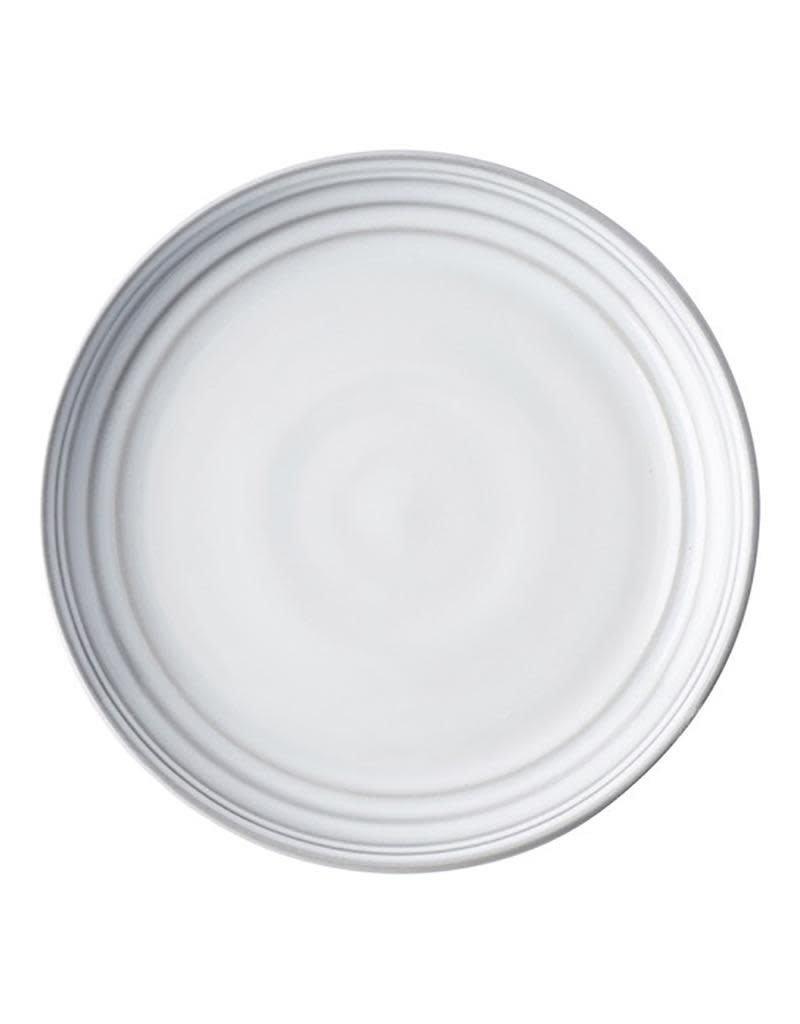 Juliska Bilbao White Truffle Dessert/Salad Plate