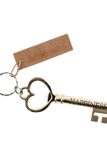 """The Key To Happiness Key Ring - 4.5""""L"""