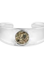 Dune Jewelry Bayview Sterling Cuff Bracelet - Puka & Mixed Shells of Hawaii