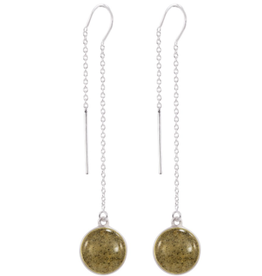 Dune Jewelry Sandglobe Long Earrings - Shells from Maui
