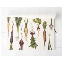 Natural Farmer's Market Paper Placemats - 30 Sheets