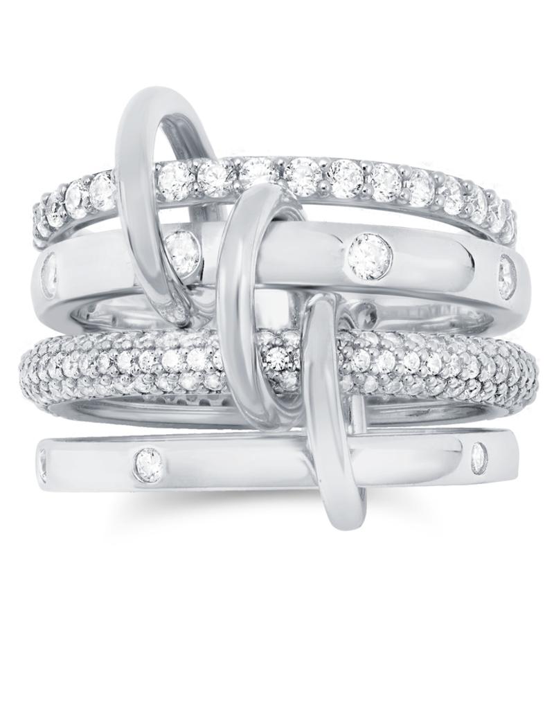 Crislu Q-Link Ring - Size 5