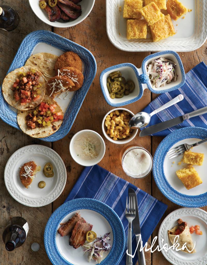 Juliska Le Panier White/Delft Blue - Dinner Plate