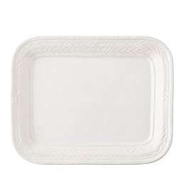 "Juliska Le Panier Platter - Whitewash - 14.5""L"