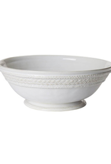 Juliska Le Panier Footed Fruit Bowl - Whitewash