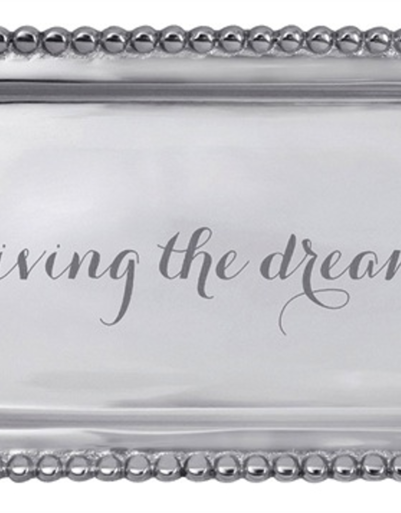 Mariposa Living The Dream Beaded Statement Tray