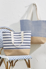 Mykonos Tote Bag with Lining - Assorted Designs