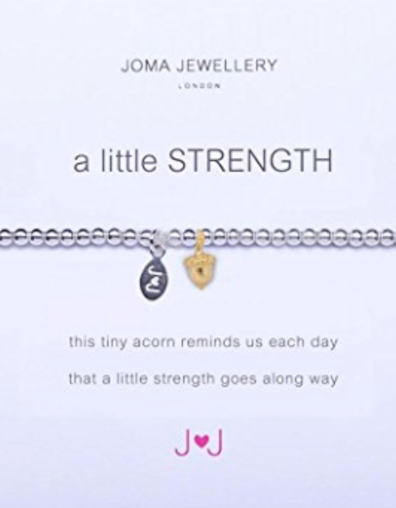 Katie Loxton a little STRENGTH - gold acorn bracelet