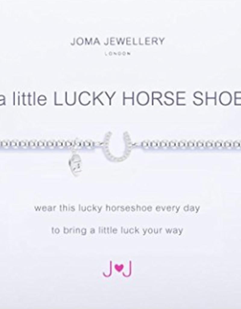Katie Loxton a little LUCKY HORSESHOE - silver bracelet