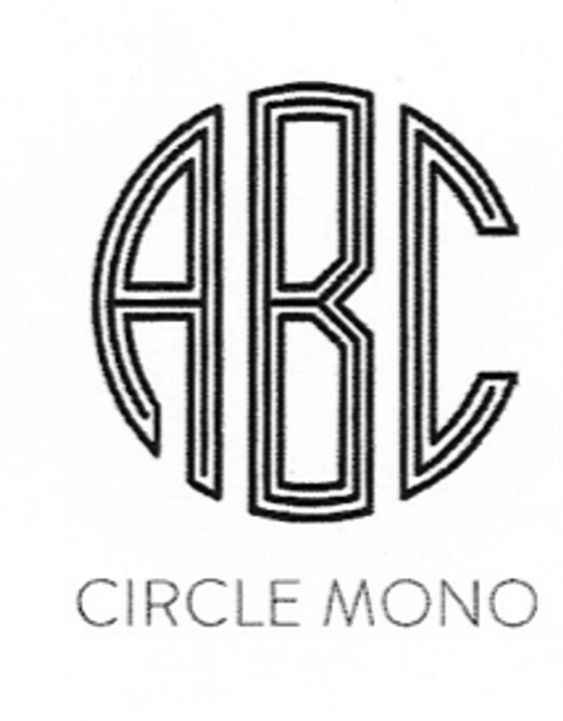 Mariposa Mariposa Engraving - Circle Monogram
