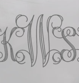 Mariposa Mariposa Engraving - Interlocking Script Monogram