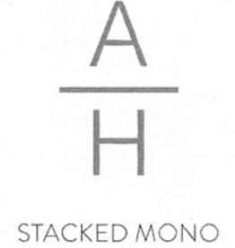 Mariposa Mariposa Engraving - Stacked Monogram